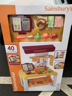 Supermarket Playset £12.00 at Sainsbury's Fosse Park Leicester