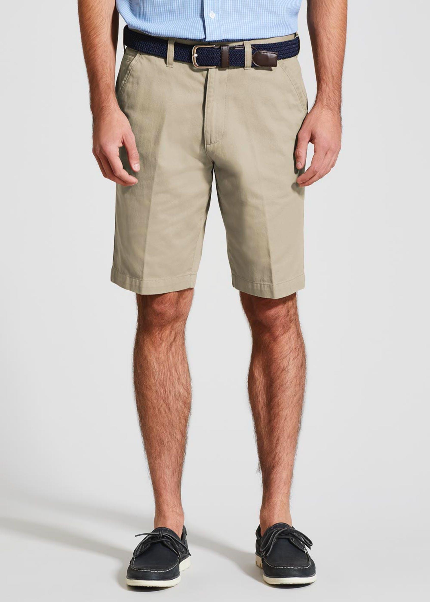 Men's Belted Chino Shorts (Free click and collect) £4 at Matalan