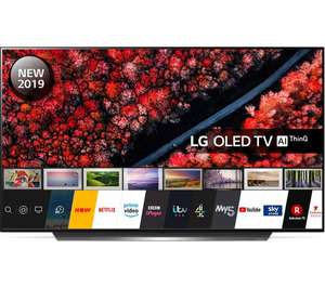 LG OLED55C9PLA 55 Inch Ultra HD 4K OLED TV £1,249 Currys PC World (with price match and quidco cashback for £1,034.10)