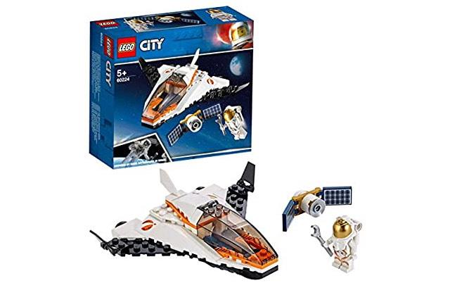 LEGO 60224 City Satellite Service Mission Mini Space Shuttle £6 Prime / £10.49 Non Prime at Amazon