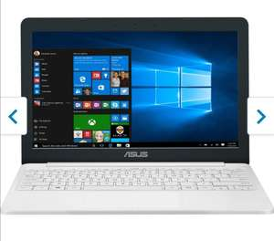 "Asus E203 11.6"" Laptop + Free Office 365 1-year Subscription With 1TB Cloud Storage - Pearl White £149 @ AO.com"