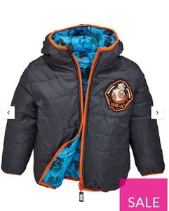 Star Wars Boys Reversible Jacket - Grey for £9.75 at Very