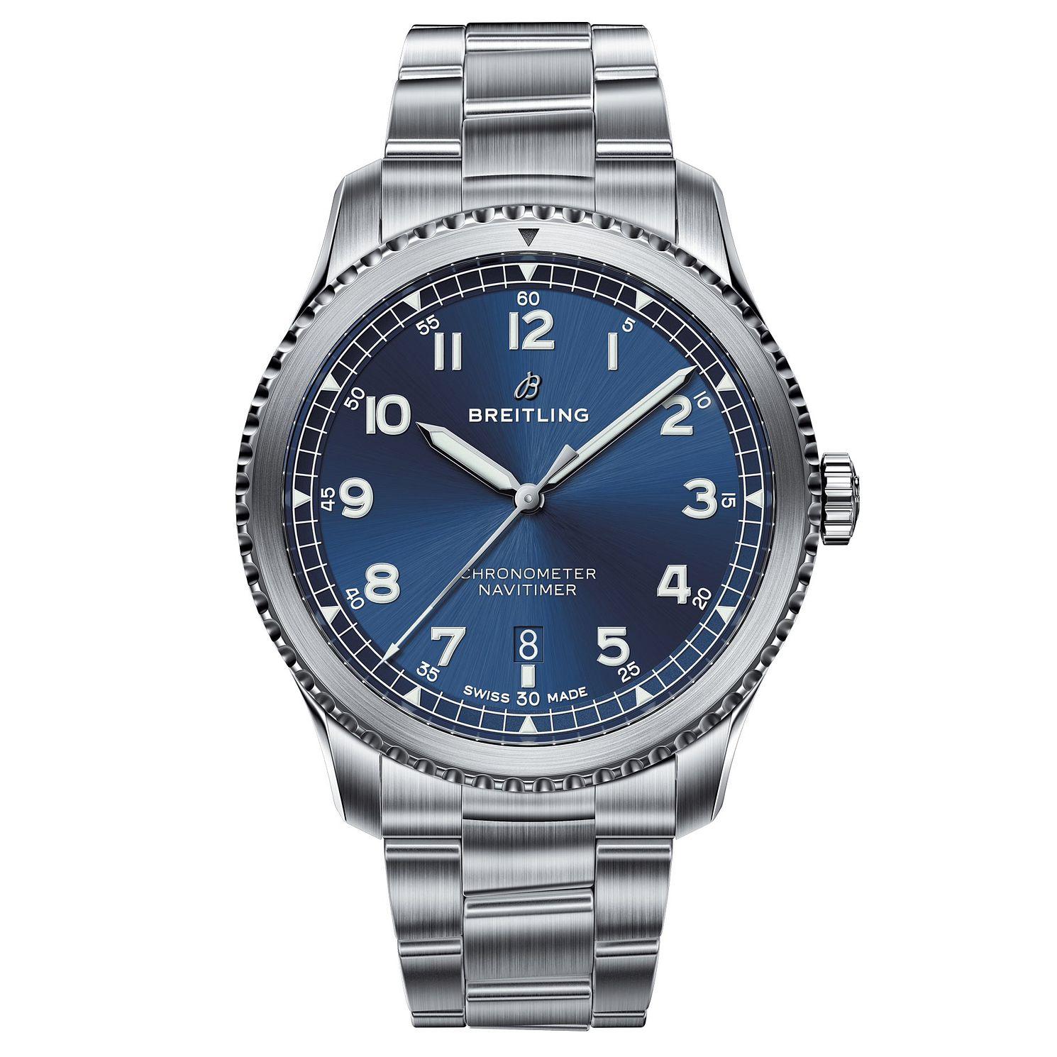 Breitling Navitimer 8 Men's Stainless Steel Bracelet Watch, £2,500 @ Ernest Jones
