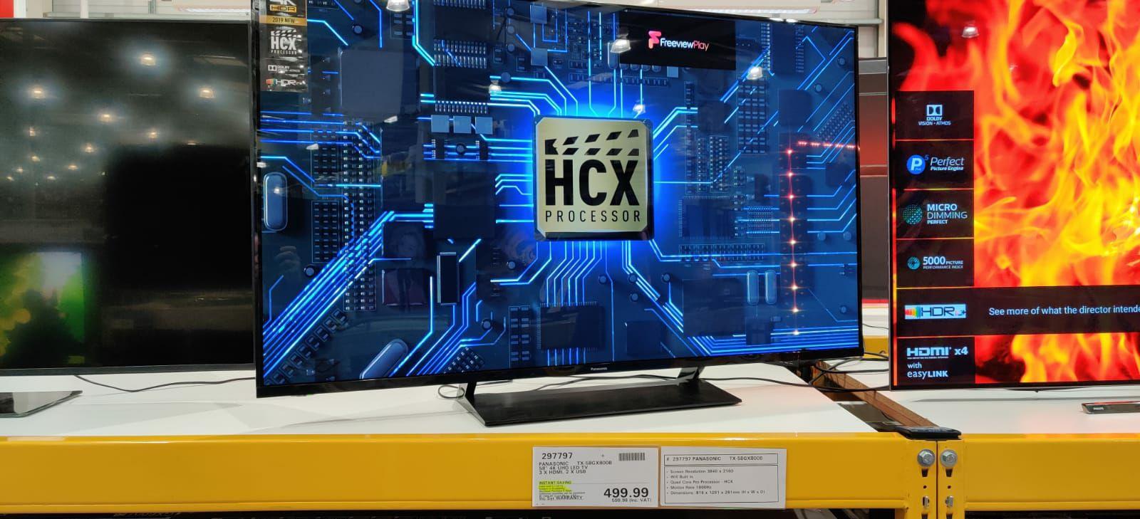 Panasonic TX-58GX800B £599.98 @ Costco Cardiff