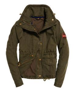 Superdry Rookie Field Crop Parka Jacket Size M £25.49 at Superdry eBay