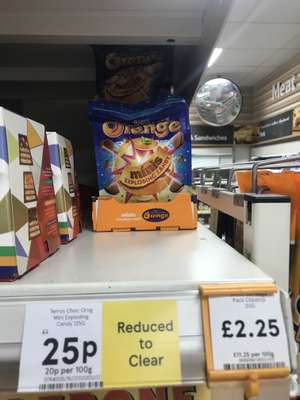 terry's chocolate orange exploding candy £0.25p @ Tesco
