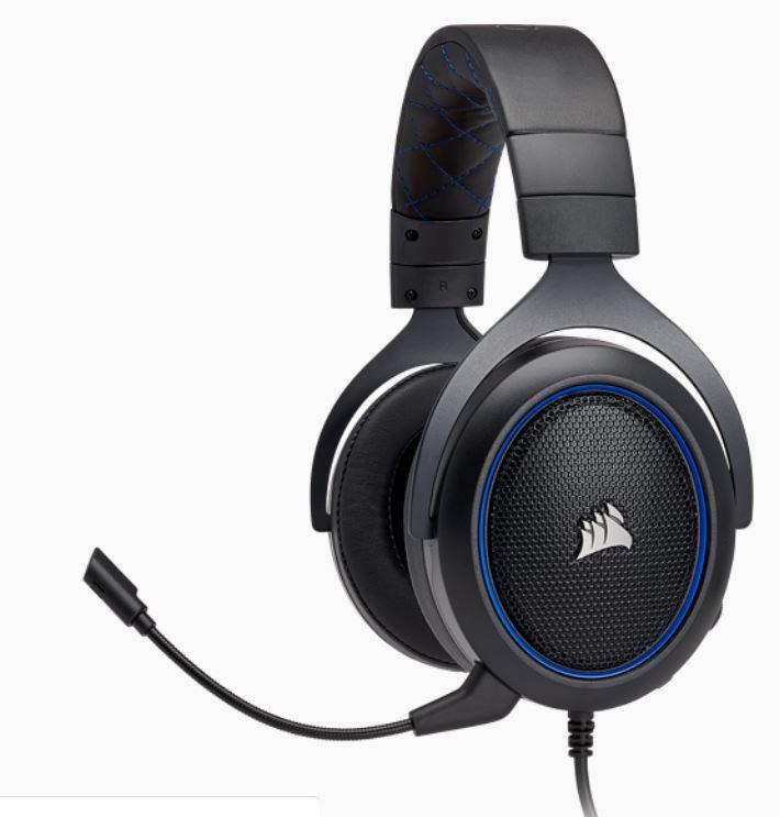 HS50 Stereo Gaming Headset — Blue Refurbished £34.99 at Corsair Shop