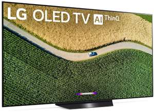 LG OLED55B9PLA 55 Inch Ultra HD 4K OLED TV Black with Freeview + 2 4K films + 5 year warranty £999 at RGB Direct