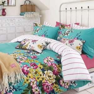 Half Price Joules Cambridge Floral Bedding £35 at Bedeck Home