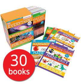 Everything I Need to Know for School: Lower Key Stage 2 Collection, 30 Books, (7 years+) £14.99 delivered with code @ The Book People