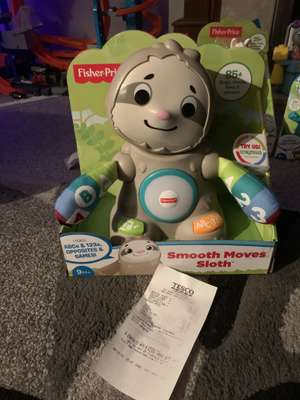 Fisher price smooth moves sloth £17.50 at Tesco