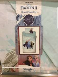 Frozen 2 single duvet cover in Primark for £7