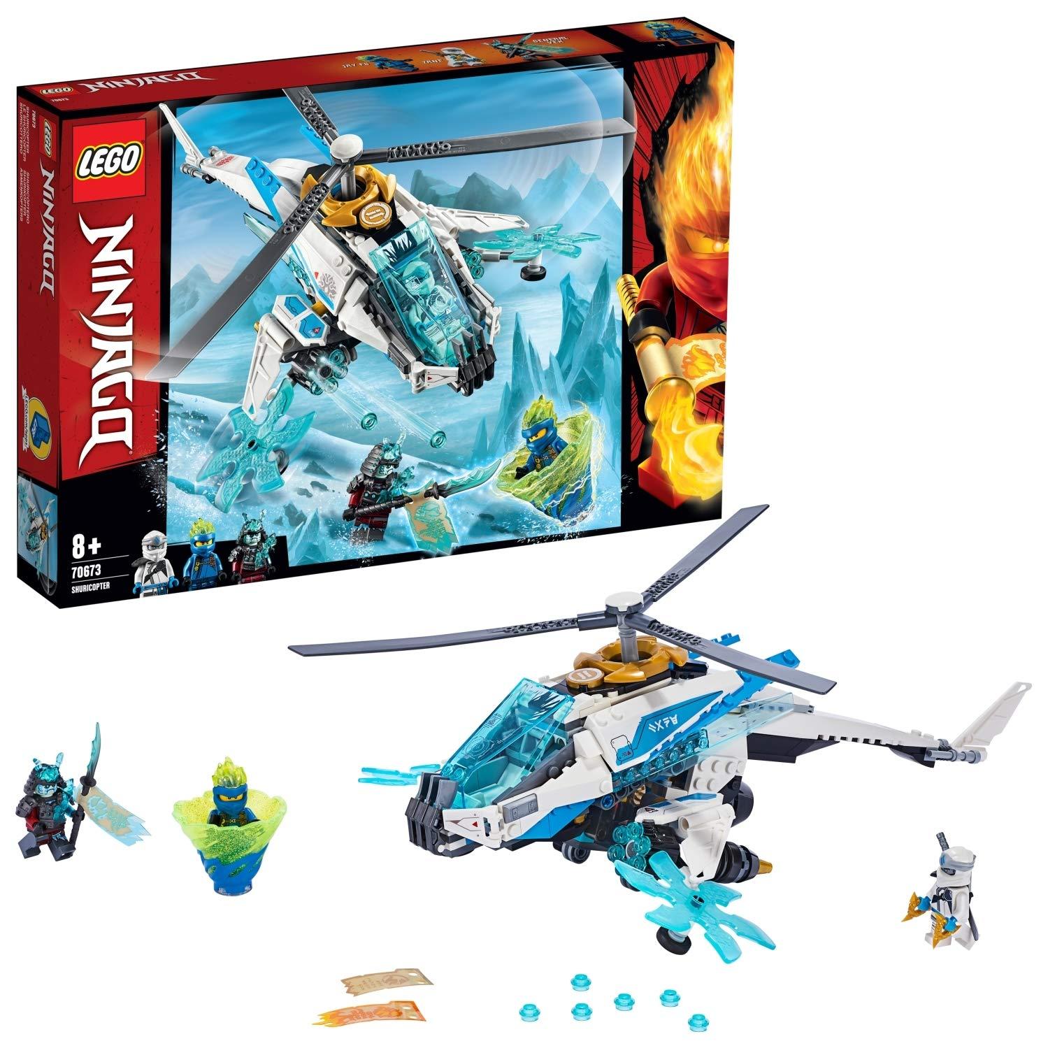 LEGO 70673 NINJAGO ShuriCopter Ninja Helicopter Toy Set £15 (Prime) / £19.49 (Non Prime) @ Amazon
