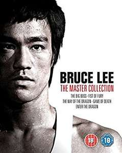 Bruce Lee The Master Collection - BD + bonus DVD [Blu-ray] £26 @ Amazon