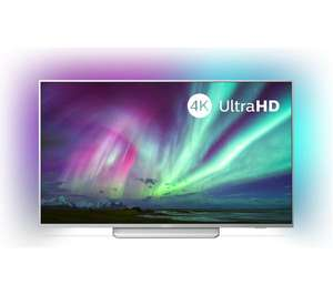 "PHILIPS Ambilight 55PUS8204/12 55"" Smart 4K Ultra HD HDR LED TV with Google Assistant £549 @ Currys PC World"