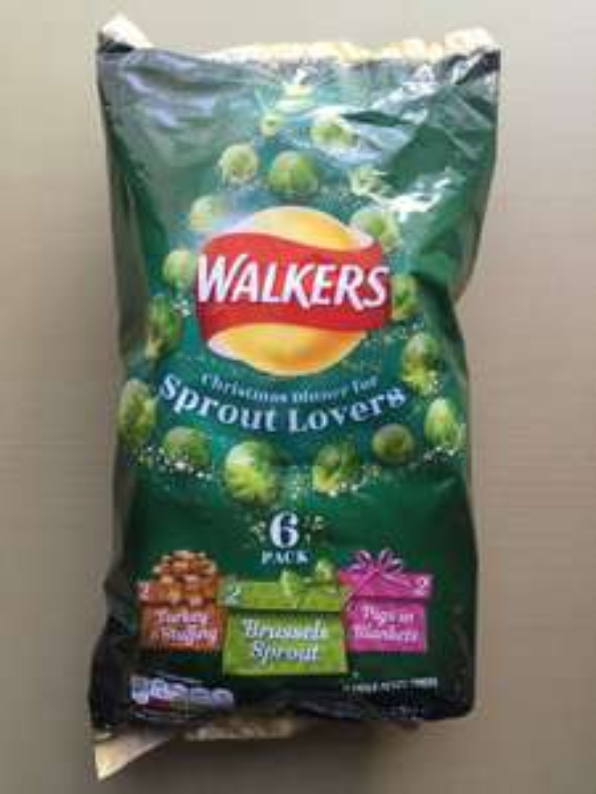 Walker's Xmas crisps 50p @ One Stop