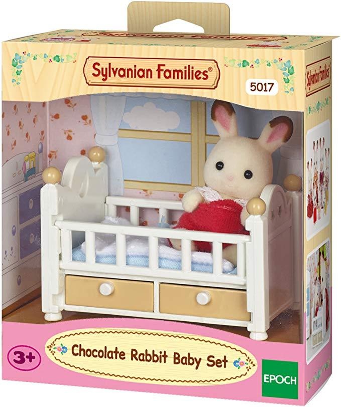 Sylvanian Families - Chocolate Rabbit Baby Set £6.00 + £4.49 NP @ Amazon