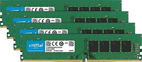 32GB Crucial (4x 8GB) DDR4 2133MHz RAM £63.69 @ Amazon