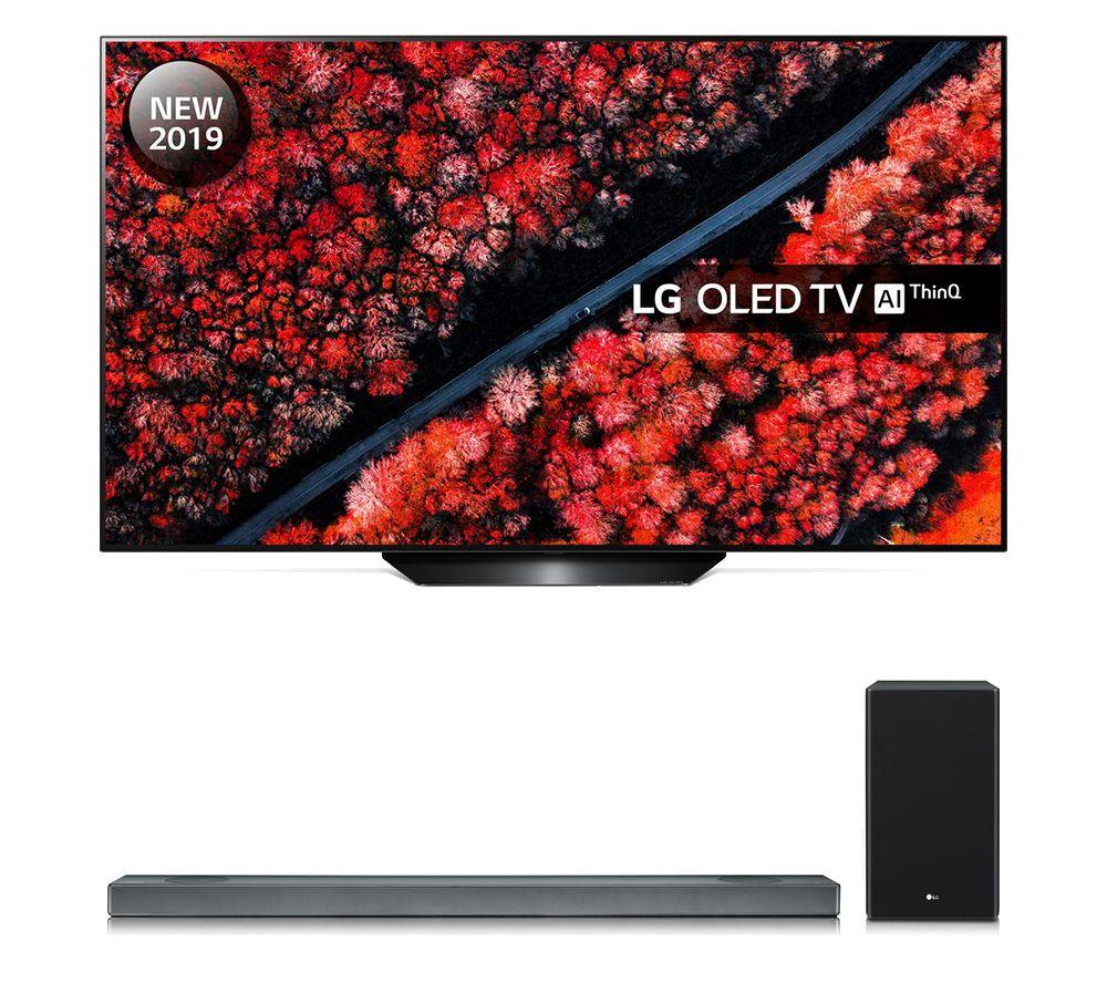 """LG OLED55B9PLA 55"""" 4K Ultra HD HDR Smart OLED TV • Free LG SJ3 Soundbar • 5 Year Warranty • 2 x Free 4K Blu-ray Films (worth £30) £999 @ PRC"""