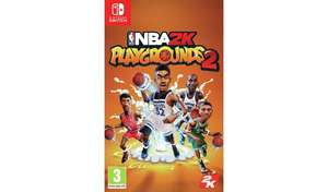 NBA Playgrounds 2 Nintendo Switch Game at Argos for £11.99