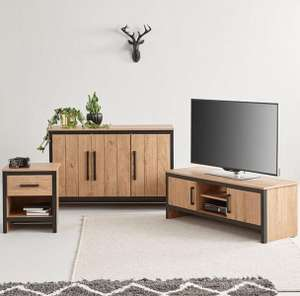 Boston 3 Piece Package - TV Unit, Sideboard And Lamp Table (£135.20+£19.99 del) @ Very £155.19