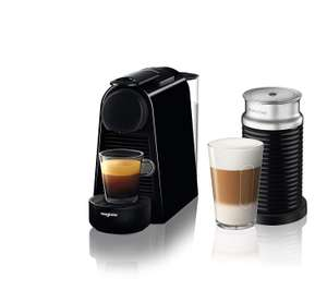 Nespresso Essenza Mini Coffee Machine with Aeroccino at Amazon for £83.99 (get 6% from top cashback) bringing it down to £78ish