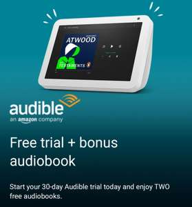 2 free audible books from Amazon (email invite)