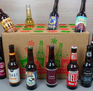 Beer Advent Calendar £24, p&p £5 at MenKind