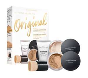 Bare Minerals Original Mineral Foundation 4 Piece Get Started Kit in Medium Beige 11.95 Delivered with Code at Escentual
