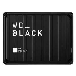 WD_Black 4TB P10 Game Drive for On-The-Go Access To Your Game Library - Works with Console or PC £89.99 at Amazon