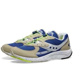 Saucony Aya retro running shoes blue/grey £25 at FootPatrol free standard delivery