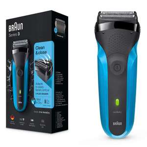 Braun Series 3 310s Wet and Dry Electric Shaver for Men/Rechargeable Electric Razor, Gifts for Men, Blue £24.99 at Amazon