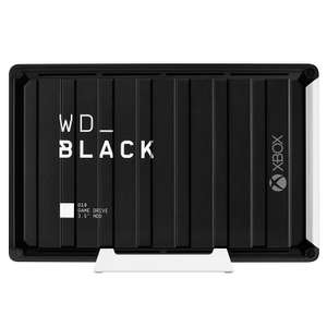 WD_Black 12TB D10 Game Drive for Xbox One 7200rpm with Active Cooling £209.99 at Amazon