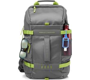"HP Odyssey 15.6"" Laptop Backpack - Grey & Green £19.99 @ Currys"