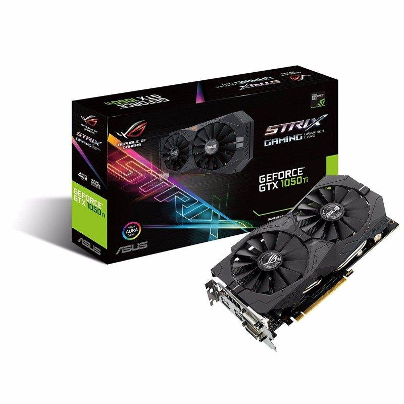 Asus GeForce GTX 1050 Ti 4GB ROG STRIX GAMING Graphics Card £134.98 @ Ebuyer