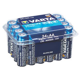 24 x AA or AAA Varta Batteries £7.49 @ Screwfix (Free Click & Collect)