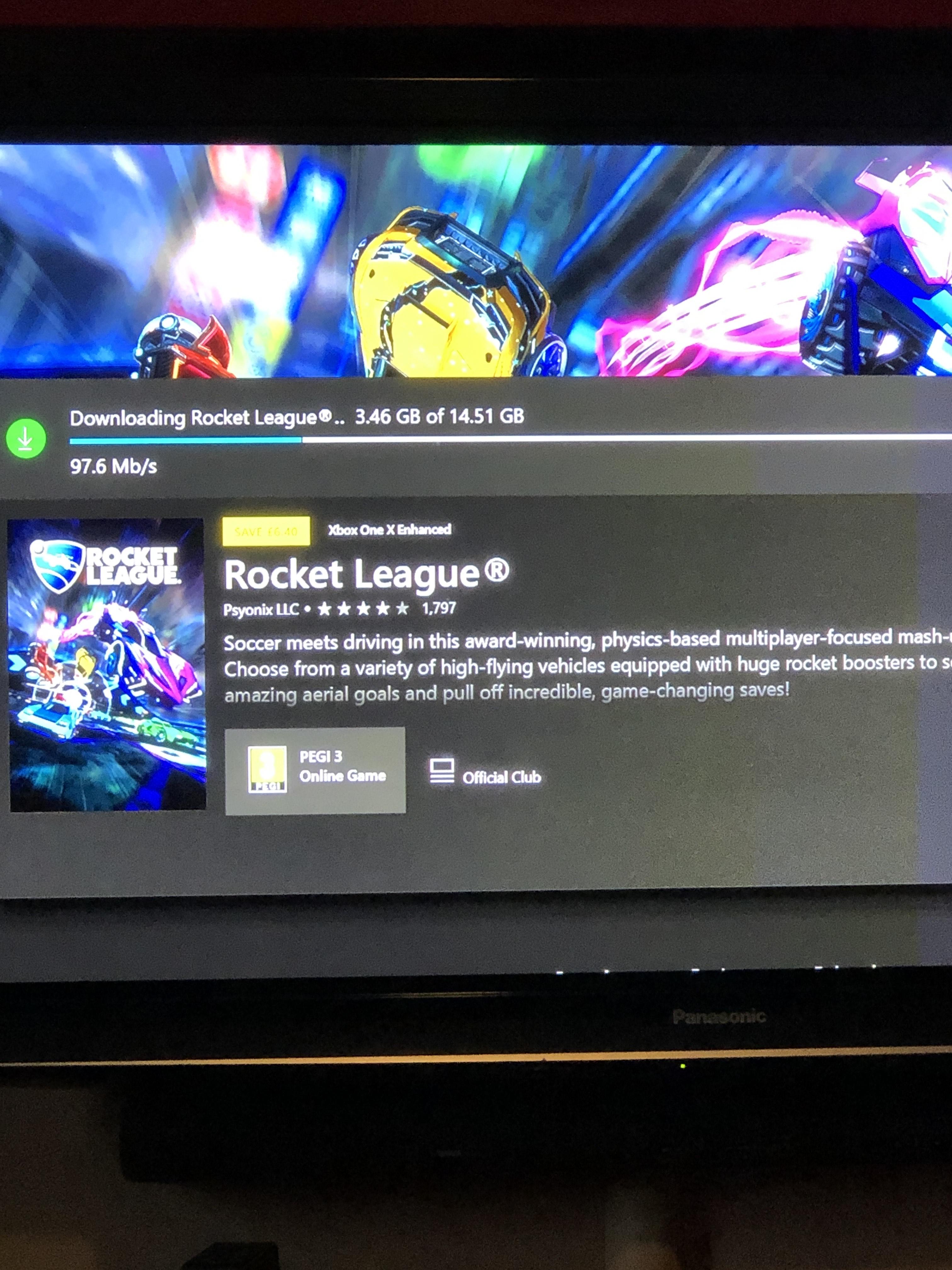 Rocket league Xbox Digital Download £6.99 @ CDKeys