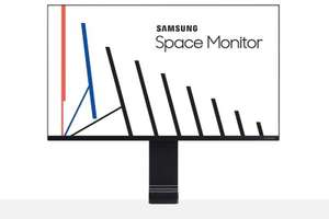 "Samsung S27R750Q 27"" WQHD 144hz Space Saving Monitor 2560 x 1440 WQHD £249.99 - Ebuyer"