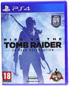 Rise of The Tomb Raider: 20 Year Celebration (PS4) £13.85 at Amazon