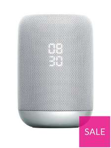 Sony LF-S50G Google Assistant Built-In Wireless Smart Speaker With 360 Degree Sound - White £69 @ Very