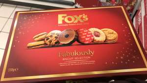 Fox's Fabulously Biscuit Selection 550g £1.50 at Sainsburys Coventry