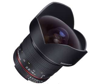 Samyang SY14M-E 14mm F2.8 Ultra Wide Lens for Sony E-Mount £253.45 delivered @ Amazon US