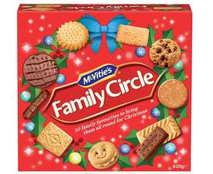 McVities Family Biscuit Selection was £3 now 90p @ Sainburys Hereford
