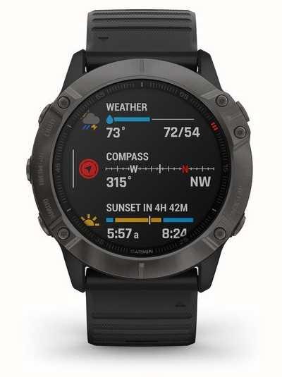 Garmin Fenix 6X Pro Sapphire £636.65 @ First class watches