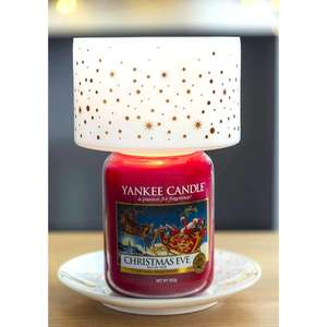 Yankee Candle Magical Christmas Lamp Shade & Tray Set (Candle not included) £6 Delivered @ Yankee Bundles