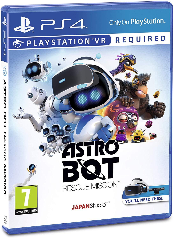 Astro Bot Rescue Mission (PS4 PSVR) - £11.99 (Prime) / £16.48 (Non-Prime) delivered @ Amazon