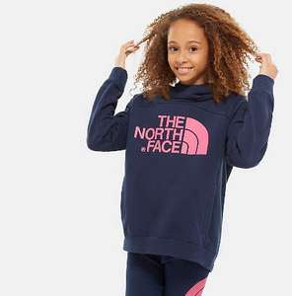 THE NORTH FACE Girls Drew Peak Hd Sweatshirt £25.03 @ Amazon