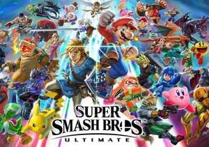 Super Smash Bros Ultimate & fighter pass (US Key) £39.88 @ GAMIVO