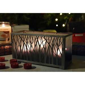 Yankee Candle Frosted Glass Ombre Forest Silhouette Design Multi Tea Light Holder £8 @ Yankee Bundles (£7.60 w/new user code)