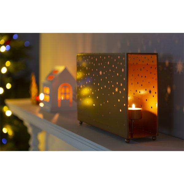 Yankee Candle Magical Christmas Gold Multi Tea Light Holder and 12 tea lights £12 @ Yankee Bundles (£11.40 w/new user code)